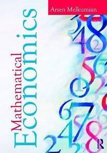 Mathematical Economics by Arsen Melkumian (Paperback, 2010)