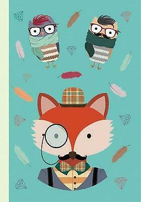 Notebook%3A+The+Hipster+Animals+Collection+Design+a%2C+Peony+Press%2C+