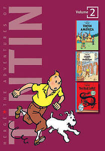 Adventures of Tintin (v. 2)-ExLibrary