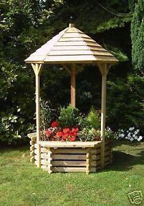 Raised Wooden Garden Planters