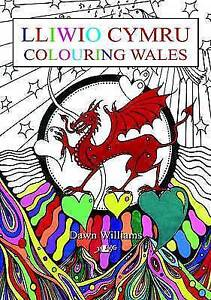 Lliwio Cymru / Colouring Wales by Dawn Williams (Paperback, 2016)