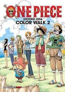 NEW One Piece Color Walk Art Book, Vol. 2 by Eiichiro Oda
