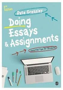 Doing Essays and Assignments, Pete Greasley