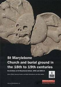 St Marylebone Church and Burial Ground in the 18th to 19th Centuries: Excavation