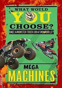 Mega Machines (EDGE: What Would YOU Choose?), Greathead, Helen, New Book