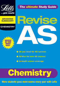 Chemistry AS Study Guide by Letts Educational Paperback 2000 - <span itemprop=availableAtOrFrom>Stone, United Kingdom</span> - Chemistry AS Study Guide by Letts Educational Paperback 2000 - Stone, United Kingdom