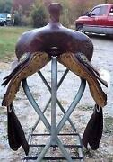 Used Reining Saddle