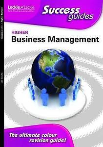 Lee Coutts, Higher Business Management (Success Guides), Very Good Book