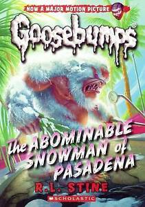 The Abominable Snowman of Pasadena By Stine, R. L. -Hcover