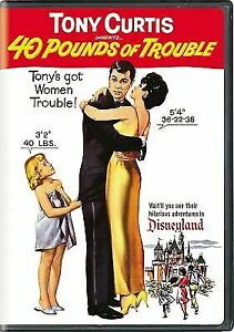 40 Pounds Of Trouble - Tony Curtis, Suzanne Phleshette, Claire Wilcox -1962 DVD - $6.98