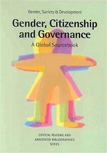 Gender, Citizenship and Governance, Minke Valk
