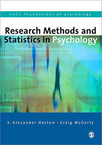 Research Methods and Statistics in Psychology (SAGE Foundations of Psychology se