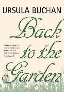 Back to the Garden,Buchan, Ursula,New Book mon0000043309