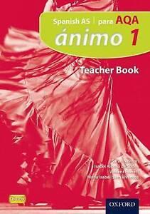 Ánimo: 1: Para AQA Teacher Book, Masardo, Virginia