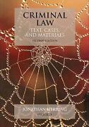 Criminal Law Text Cases and Materials