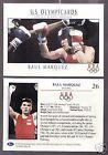 Boxing Box Olympics Trading Cards