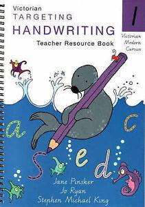 Targeting Handwriting: Year 1 Teacher Resource Book by Jane Pinsker (Paperback,