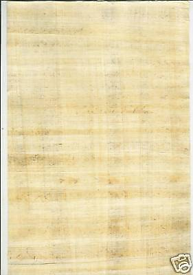 Lot 10 <> Egypt Papyrus <> HandMade Plain Legal size , 30x40cm. (12