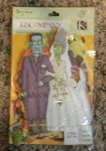 K&Company Halloween 172 Pc Die Cut Cardstock