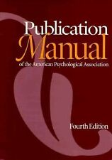 Am Psychological Assn Publication Manual