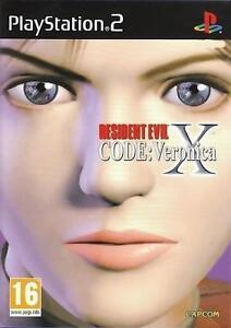 Resident Evil Code Veronica X  'New & Sealed' *PS2*