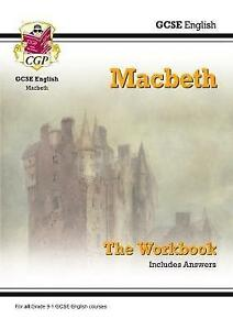 New GCSE English Shakespeare - Macbeth Workbook (Includes Answers) by CGP...