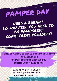 Pamper day