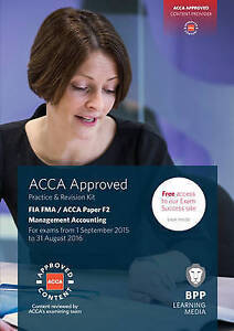 FIA Foundations in Management Accounting FMA (ACCA F2): Practice and Revision K