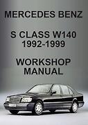 Mercedes Benz s Class Repair Manual