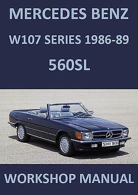 Mercedes 560sl manual ebay for 2003 mercedes benz sl500 owners manual