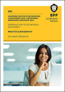 IOC Introduction to Securities and Investment Syllabus Version 16, BPP Learning