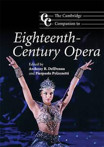 The Cambridge Companion to Eighteenth-Century Opera by Cambridge University...