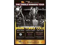 Manchester United - The Treble Winners Tour - 2 Gold Tickets
