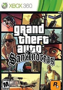 XBOX 360 | Grand Theft Auto San Andreas