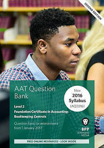 AAT Bookkeeping Controls: Question Bank by BPP Learning Media (Paperback, 2016)
