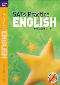 SATs Practice English: For Ages 9-10 (SATs Practice),Brodie, Andrew,New Book mon