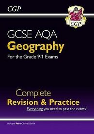 New Grade 9-1 GCSE Geography AQA Complete Revision & Practice (CGP GCSE Geography 9-1 Revision)