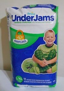 Couches Pull ups Pampers Underjams Large