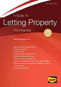 """""""VERY GOOD"""" Roger Sproston, Guide to Letting Property, A (Easyway Guides), Book"""