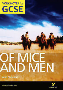 Of-Mice-and-Men-York-Notes-for-GCSE-2010-by-Martin-Stephen-9781408248805
