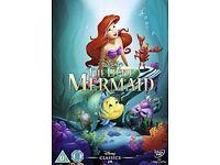 Disney dvd the little mermaid