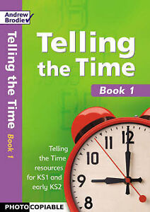 Brodie Andrew-Telling The Time Book 1  BOOK NEW