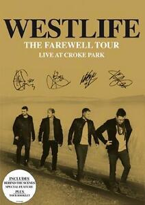 Westlife The Farewell Tour Live at Croke Park 2012 DVD Pop Music Album Brand New