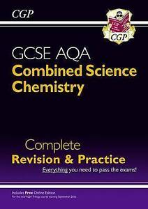 CGP New Grade 9-1 GCSE Combined Science Chemistry AQA Revision & Practice