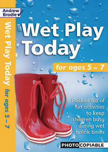 Brodie Andrew-Wet Play Today For Ages 5-7  BOOK NEW