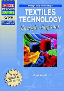 GCSE Design and Technology: Textiles Technology through diagrams-ExLibrary