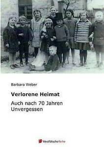 NEW Verlorene Heimat (German Edition) by Alfred Miebs