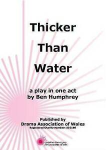 Thicker Than Water by Humphrey Ben - <span itemprop=availableAtOrFrom>Hertfordshire, United Kingdom</span> - Returns accepted Most purchases from business sellers are protected by the Consumer Contract Regulations 2013 which give you the right to cancel the purchase within 14 days after th - Hertfordshire, United Kingdom