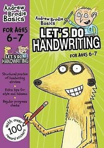 Brodie Andrew-Let`S Do Handwriting 6-7  BOOK NEW