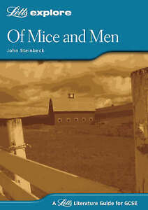 Of Mice and Men by Letts Educational (Paperback 2004) (F15)